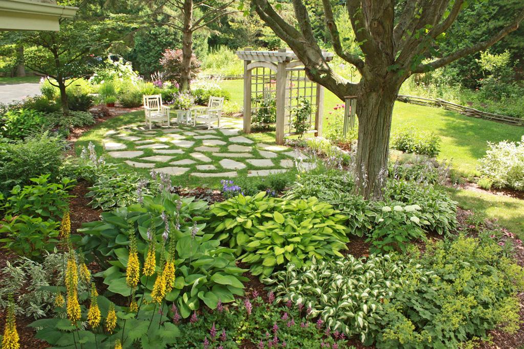 Shade Garden Basics Hawks Landscape Inc